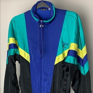 Vintage Spalding pro jacket color block full zip